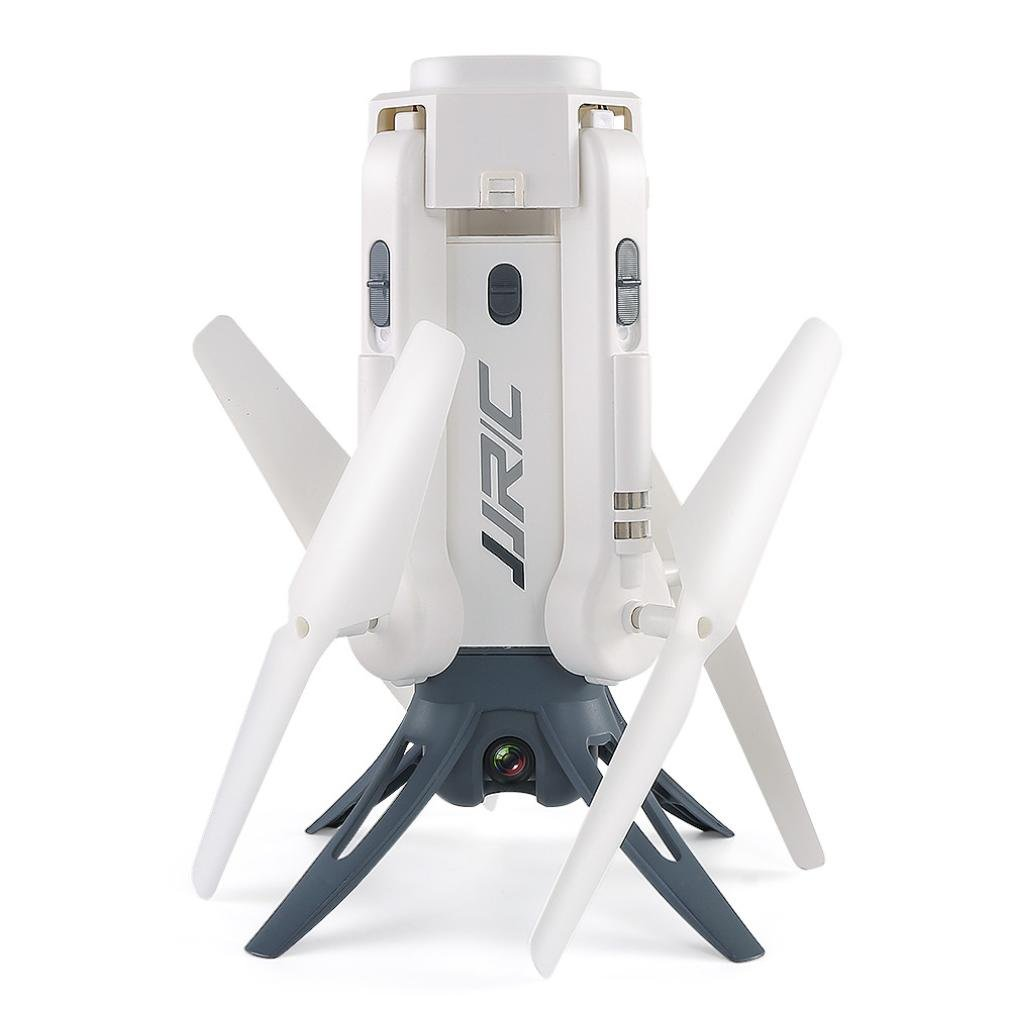 Dreamyth JJRC H51 Fold Altitude Hold Quadcopter WiFi Selfie FPV 720P Camera Drone Helicopter Affordable (white)