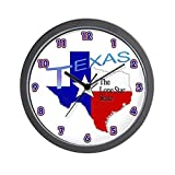 CafePress – Texas – Unique Decorative 10″ Wall Clock For Sale