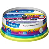 三菱ケミカルメディア Verbatim 1回記録用 DVD+R DL DTR85HP25V1 (片面2層/2.4-8倍速/25枚)