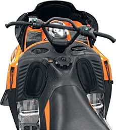 Skinz Protective Gear Console Knee Pad for Arctic Cat (Black)