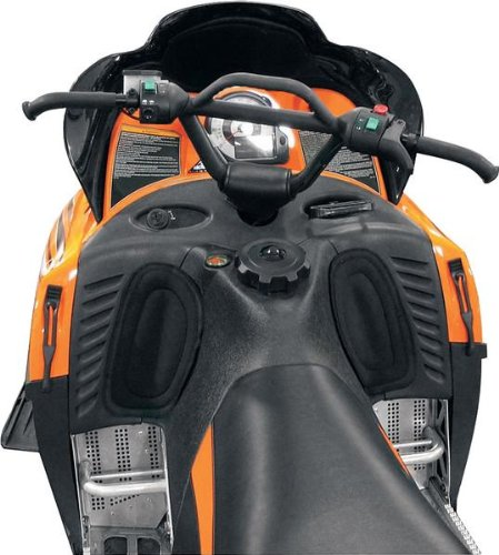 (Skinz Protective Gear Console Knee Pad for Arctic Cat (Black))