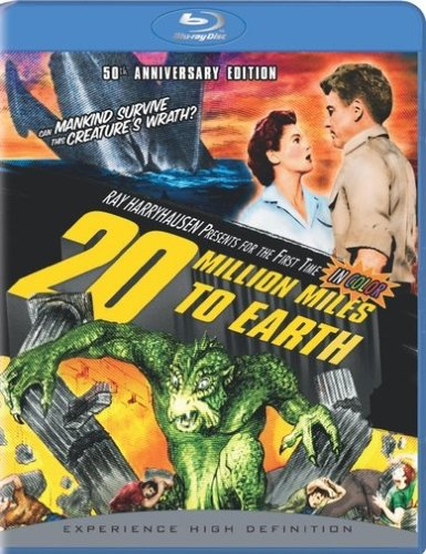 20 Million Miles to Earth (50th Anniversary Edition) [Blu-ray]