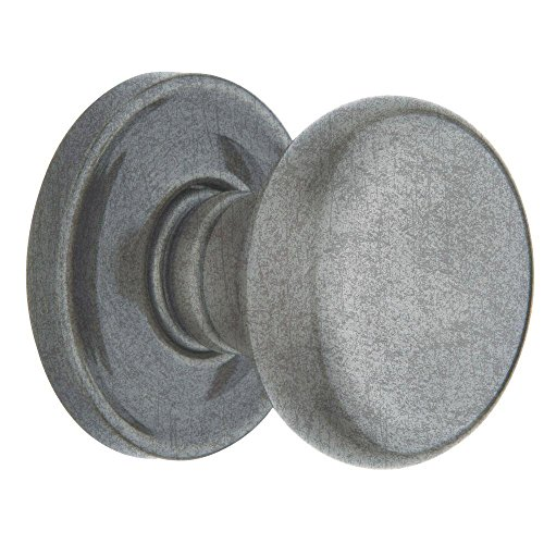 Baldwin 9BR3520-379 Estate Classic Half Dummy Knob in Distressed Antique Nickel (5015 452 IDM ()