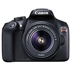 Canon EOS Rebel DSLR T6 Camera Body + Canon 18-55mm EF-S IS II Autofocus Lens + Wide Angle & 2x 58mm Lens + SanDisk 64GB…