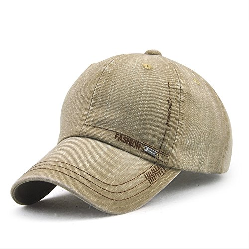 Beige Baseball Hat - 3