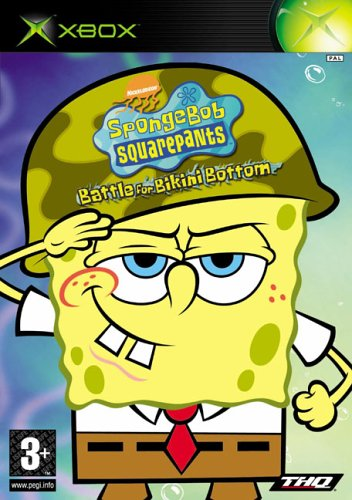 Spongebob Squarepants : Battle for Bikini Bottom (Xbox) (Spongebob Video Games Xbox)