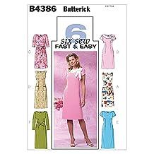 Butterick Sewing Pattern 4386 - Ladies Dress Sizes: 16-18-20-22