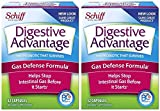 Digestive Advantage Gas Defense Formula Probiotic Capsules, 32 Count (Pack of 2)