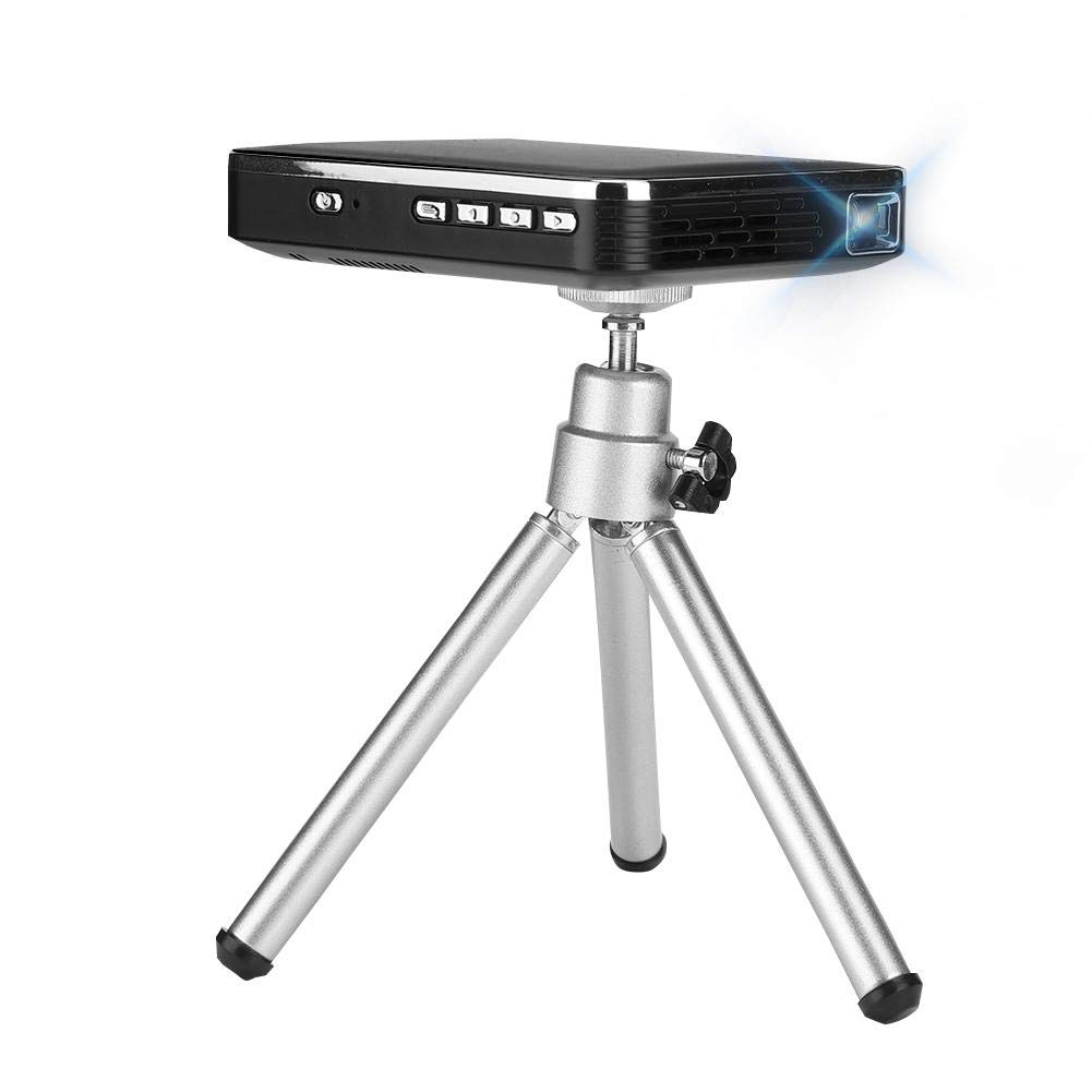 Mini proyector, proyector portátil negro 4K HD Proyector WiFi X3 ...