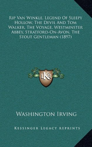 a comparison of washington irvings the legend of sleepy hollow and the devil and tom walker Page 1 1 a thousand peculiar and varied forms: space and narrative in the nineteenthcentury british historical novel by thomas glynn bragg, jr.