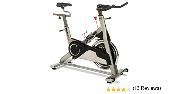 SPINNING® Indoor Cycle Sprint Premium Bike - Bicicletas estáticas Fitness (Indoor, Original), Color Gris Metalizado: Amazon.es: Deportes y aire libre