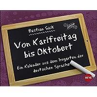 Bastian Sick Tagesabreißkalender 2020 14x11cm