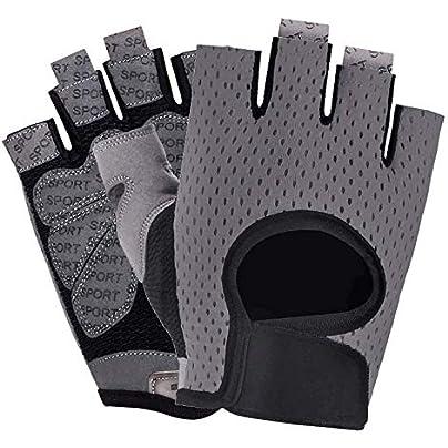 Unisex Fitness Gloves Spinning Bike Anti-slip Half Finger Breathable Gloves Sports Training Equipment Dumbbell Wristband Estimated Price -