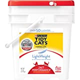 Kyпить Purina Tidy Cats LightWeight 24/7 Performance Clumping Litter for Multiple Cats - (1) 17 lb. Pail на Amazon.com
