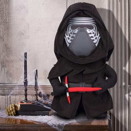 Gemmy Holiday Greeter Star Wars Kylo Ren Halloween Decoration