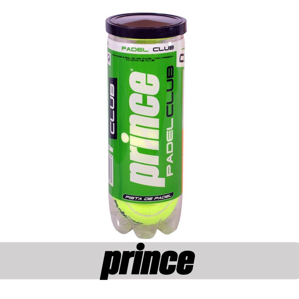 Bote de 3 pelotas Prince Club Padel: Amazon.es: Deportes y ...