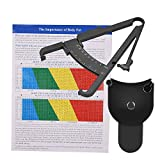 Body Fat Monitors Fat Tester Body Skinfold Tape Measurement Tool with Measure Tape Body Fat Monitors Caliper Health Care Tool