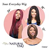 Outre Natural Yaki Series Lace Front Wig - Natural Yaki 24 (DRB30/1) by Outre