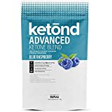 Ketond Advanced Ketone Supplement - 11.7g of goBHB per Serving (30 Servings) - #1 Rated BHB (Beta-HydroxyButyrate) Supplement for Weight Loss, Increased Energy, Focus & Fat Loss (Blue Raspberry)