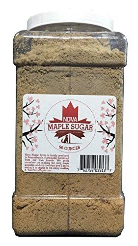 Nova Maple Sugar - Pure Grade-A Maple Sugar (6 Pounds) by Nova Maple Syrup (Image #4)