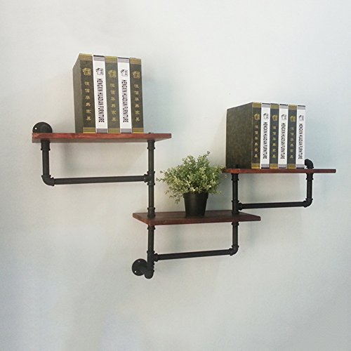 Amazon.com: Hty zwj Wooden Wall-Mounted Storage Rack ...