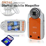SVP DM540(with 16GB) 2.7'' LCD Digital Mobile Microscope/Maginifier with Build-in Camera