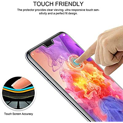 Conber (3 Pack) Screen Protector for LG G7 ThinQ, Tempered Glass Film [Scratch-Resistant][Shatterproof][Case Friendly] Screen Protector for LG G7 ThinQ: Baby
