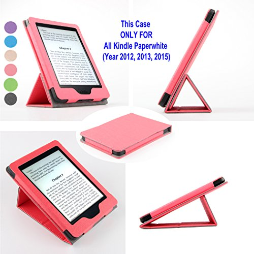 Kindle Paperwhite Case – with Fortune Tech Foldable Stand...