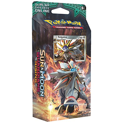 Pokemon TCG Card Game Sun and Moon Theme Deck - Steel Sun - Solgaleo