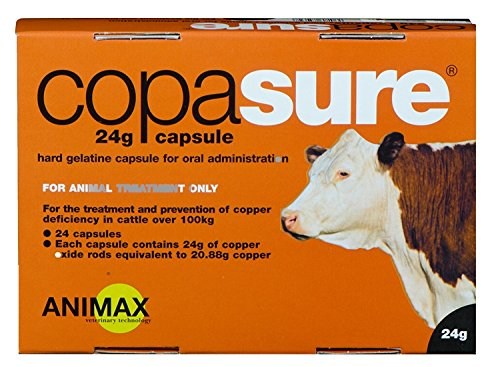 Animax  Copasure 24g Capsules for Cattle x Size  24 Pack
