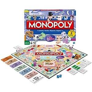 Hasbro - Parker - 36011010 - Jeu de Plateau - Monopoly Littlest Petshop