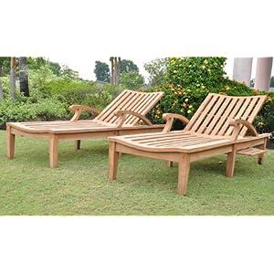 51YAcvy0X6L._SS300_ Teak Lounge Chairs & Teak Chaise Lounges