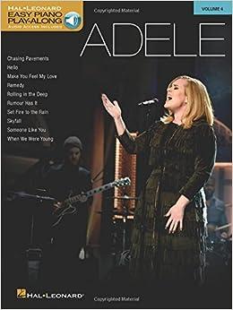 Adele: Easy Piano Play-Along Volume 4