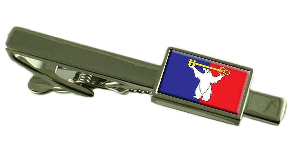 Norilsk Ciudad Bandera Rusia Clip de corbata: Amazon.es: Joyería
