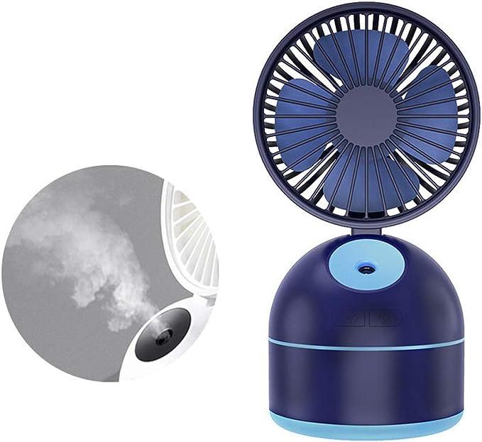 Nebulizador pequeño ventilador de enfriamiento USB recargable ...