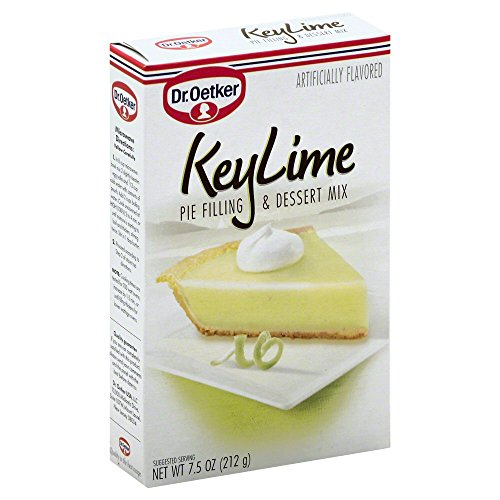 Dr. Oetker Organics Key Lime Pie Filling And Dessert Mix, 7.5 Ounce (Recycled Filling)