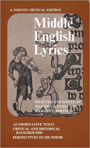 Middle english lyrics norton critical editions richard l middle english lyrics norton critical editions fandeluxe Images