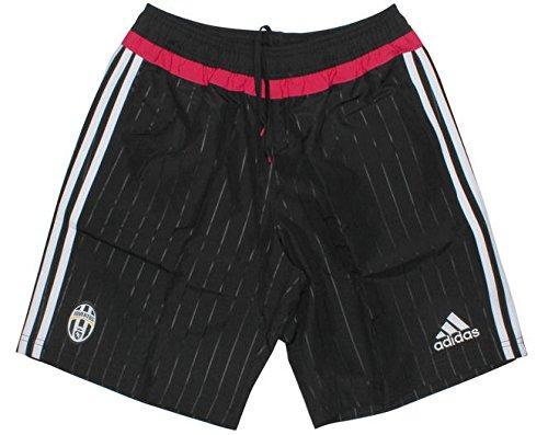 Adidas Juve WOV SHO–Shorts, Schwarz/Weiß/Pink