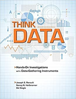 Book Think Data: Getting Kids Involved in Hands-On Investigations with Data-Gathering Instruments by Joseph Renzulli Ph.D. (2010-01-01)