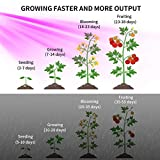 YINTATECH 600W LED Grow Light Full Spectrum Growing