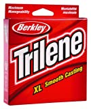 Berkley Trilene XL Filler 0.013-Inch Diameter Fishing Line, 12-Pound Test, 1000-Yard Spool, Green