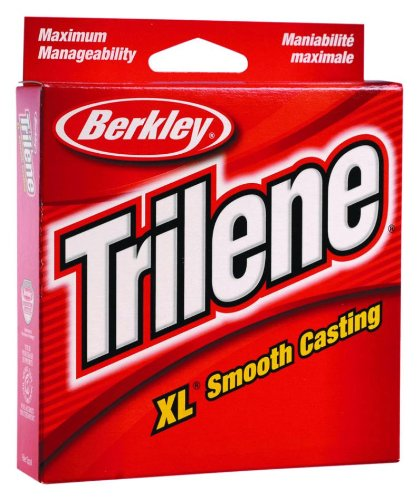 Berkley Trilene XL Filler 0.013-Inch Diameter Fishing Line, 12-Pound Test, 1000-Yard Spool, Green ()