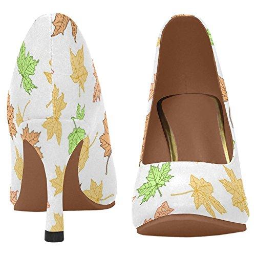InterestPrint Womens Classic Fashion High Heel Dress Pump Shoes Multi 4 1MMKsPN
