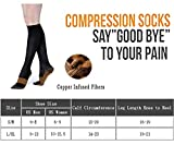 Copper Compression Socks for Men & Women