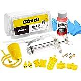 Revmega Bleeder Hydraulic Disc Brake Bleed Kit Tool fit Shimano - Inc. 60ml Mineral Oil Fluid
