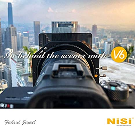 CPL NiSi V6 Filter Holder 100mm System with NC Landscape Circular Polarising Filter