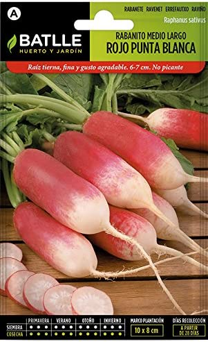 Semillas Hortícolas - Rabanito redondo rojo sel. Especial - Batlle ...