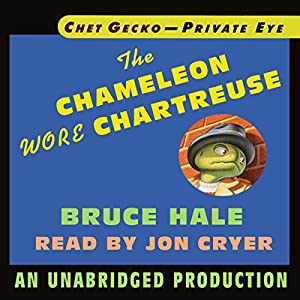 Chet Gecko, Private Eye, Book 1 Audiobook