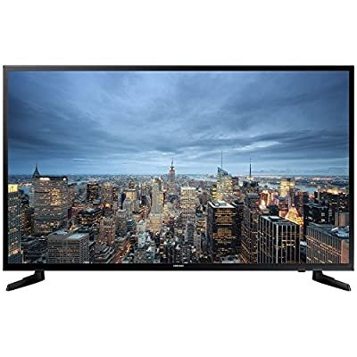 "Samsung UA-40JU6000 40"" UHD 4K Slim Multi-System Smart Wi-Fi LED TV 110-240 Volt w/ Free HDMI Cable"