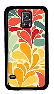 Samsung Galaxy S5 patterns abstract colors parallax 19 PC Custom Samsung Galaxy S5 Case Cover Black